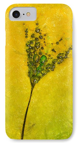 Dandelion Flower - Da IPhone Case by Leonardo Digenio