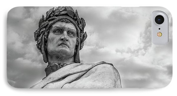 IPhone Case featuring the photograph Dante Alighieri by Sonny Marcyan