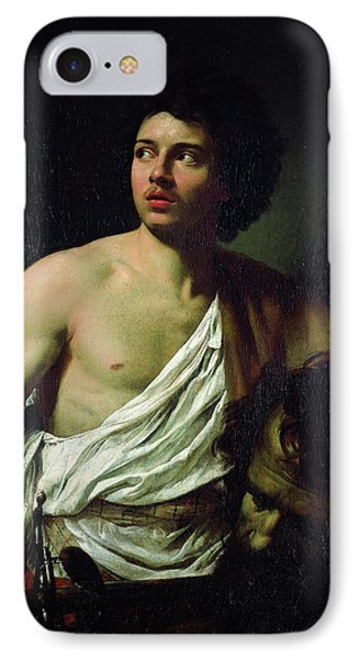 David With The Head Of Goliath IPhone Case by Simon Vouet