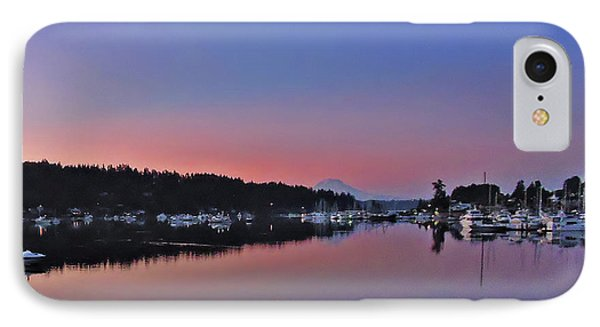 IPhone Case featuring the photograph Dawn At Gig Harbor by Jack Moskovita