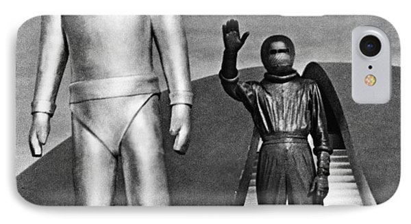 Day The Earth Stood Still Phone Case by Granger