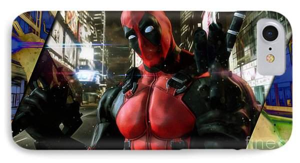 deadpool Collection IPhone Case by Marvin Blaine