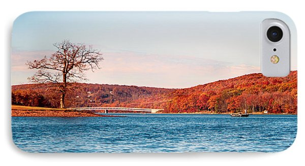 Deep Creek Lake Fall V IPhone Case by Neal Blizzard