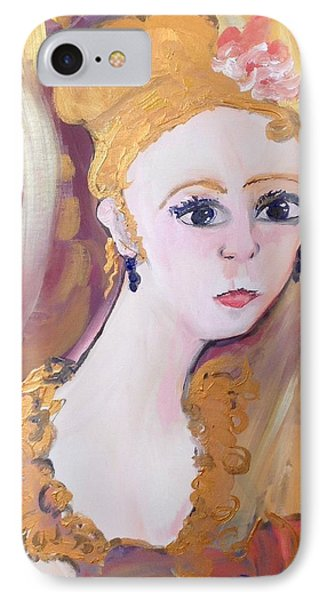 Deep In Thought  IPhone Case by Judith Desrosiers