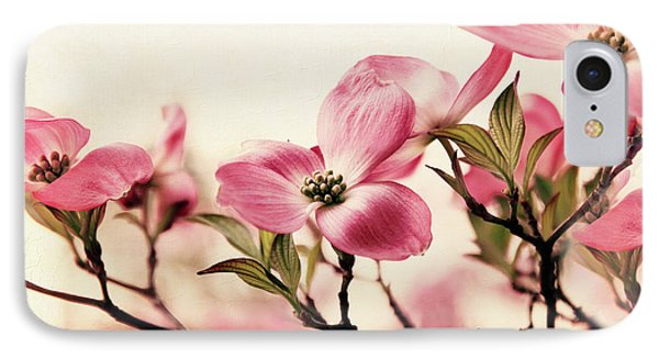 IPhone 7 Case featuring the photograph Delicate Dogwood by Jessica Jenney