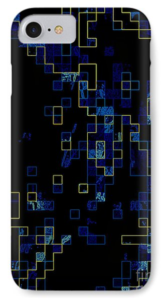 IPhone Case featuring the mixed media Depth by Kristine Nora