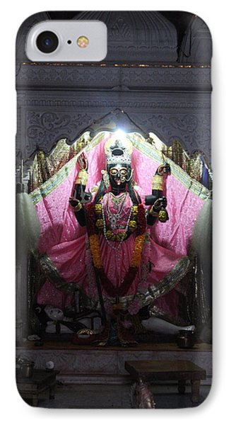 Devi Temple, Vrindavan IPhone Case