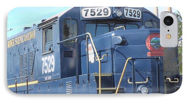Diesel Engline Train IPhone Case by Linda Geiger