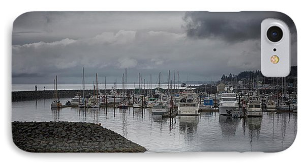 Discovery Harbour IPhone Case by Randy Hall