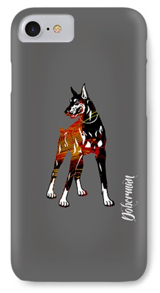 Doberman Pinscher Collection IPhone Case by Marvin Blaine