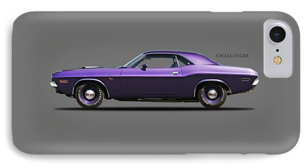 Dodge Challenger IPhone Case by Mark Rogan