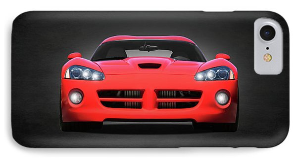Viper iPhone 7 Case - Dodge Viper by Mark Rogan