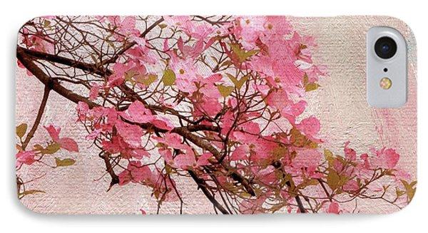 Dogwood Blossom IPhone Case by Jessica Jenney