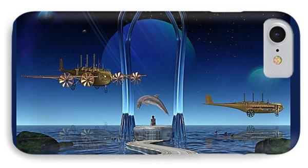 Dolphin Dreams IPhone Case