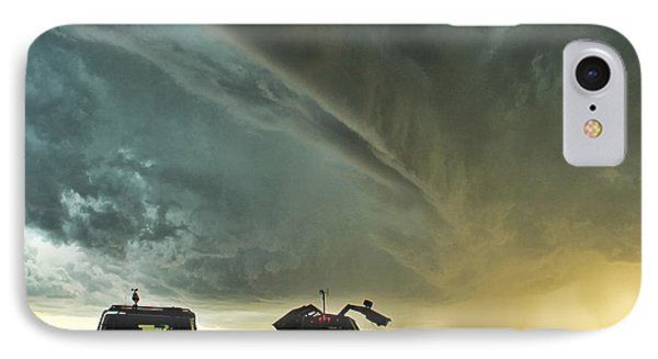IPhone Case featuring the photograph Dominating The Storm by Ryan Crouse