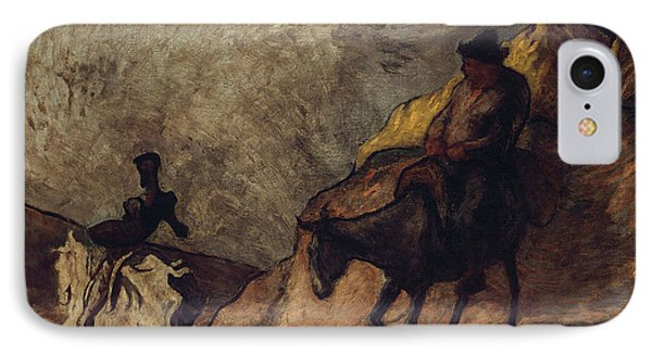 Don Quixote And Sancho Panza IPhone Case