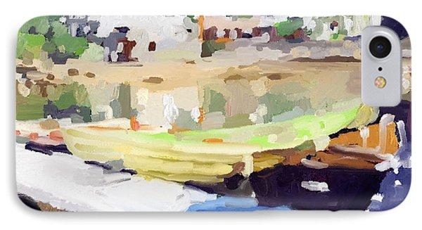 Dories At Beacon Marine Basin IPhone 7 Case by Melissa Abbott