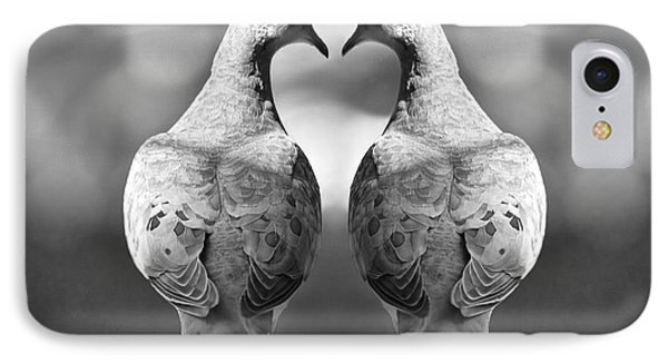 Dove Birds IPhone Case by Randall Nyhof