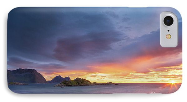 IPhone Case featuring the photograph Dreamy Sunset by Maciej Markiewicz