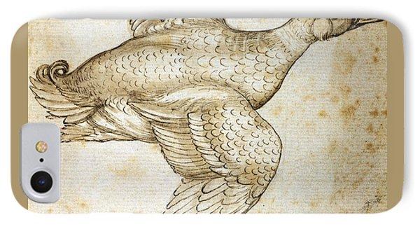 Duck IPhone Case by Leonardo da Vinci