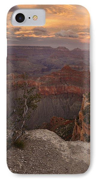 IPhone Case featuring the photograph Dusk From Mather Point by Stephen  Vecchiotti