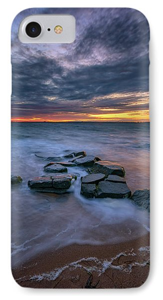 Dusk On Fire Island IPhone Case by Rick Berk
