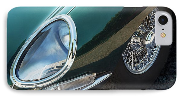 IPhone Case featuring the photograph E-type by Dennis Hedberg