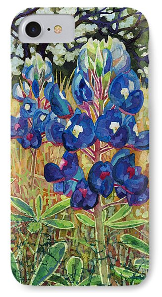 IPhone Case featuring the painting Early Bloomers by Hailey E Herrera