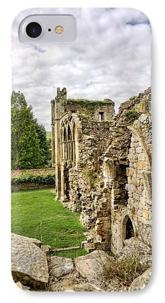 Easby Abbey IPhone Case by Nichola Denny