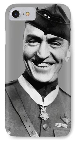 Eddie Rickenbacker  IPhone Case by War Is Hell Store