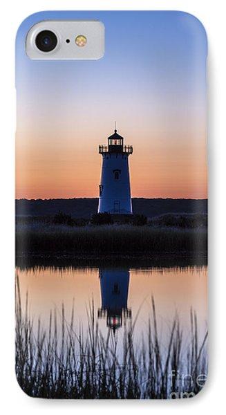 Edgartown Light Sunrise IPhone Case by John Greim