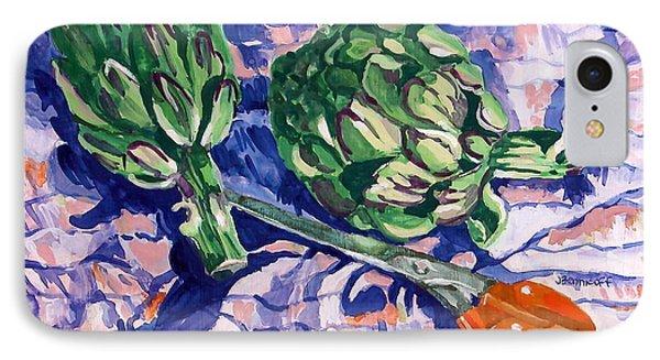 Edible Flowers IPhone Case by Jan Bennicoff