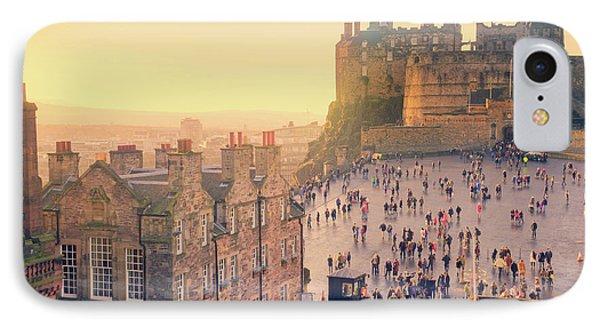 Edinburgh Castle IPhone Case by Ray Devlin