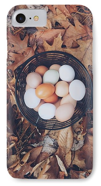 Eggs IPhone Case by Happy Home Artistry