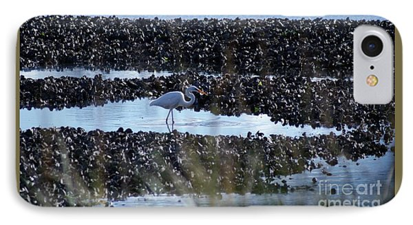 IPhone Case featuring the photograph Egret In The Marsh by Margie Avellino