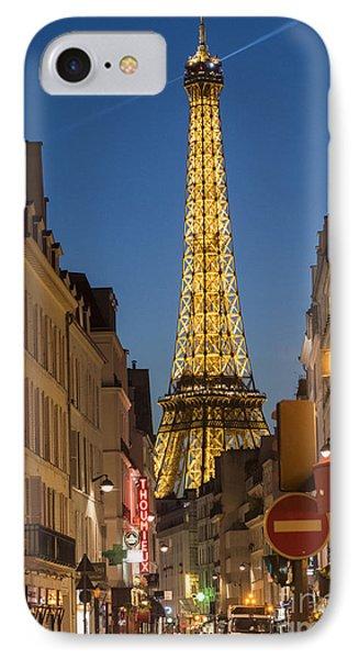 Eiffel Tower IPhone Case by Juli Scalzi