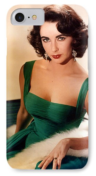 Elizabeth Taylor IPhone Case by American School