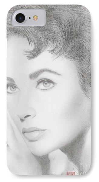 Elizabeth Taylor IPhone Case by Eliza Lo