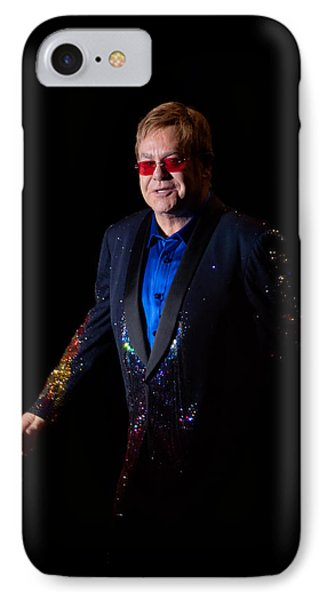 Elton John IPhone Case by Chris Cousins