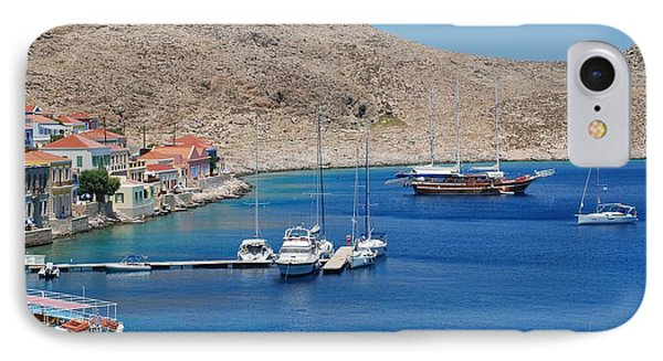 Emborio Harbour On Halki IPhone Case