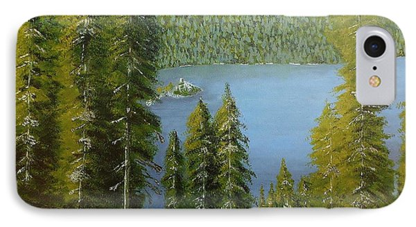 Emerald Bay - Lake Tahoe IPhone Case by Mike Caitham
