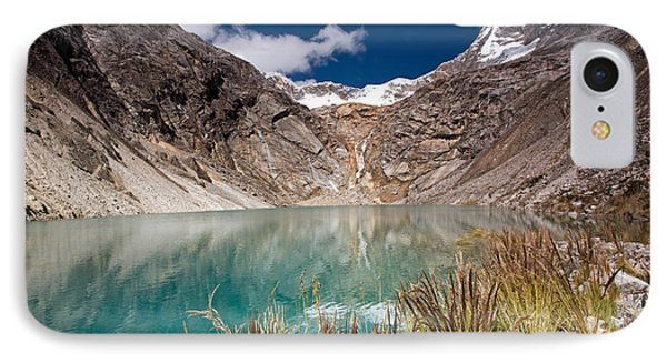 Emerald Green Mountain Lake At 4500m IPhone Case