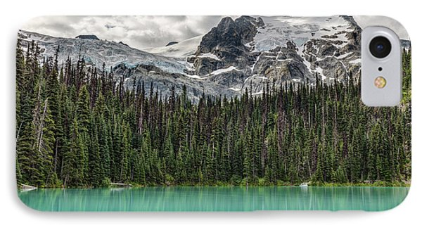 IPhone Case featuring the photograph Emerald Reflection by Pierre Leclerc Photography