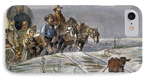 Emigrants, 1874 IPhone Case