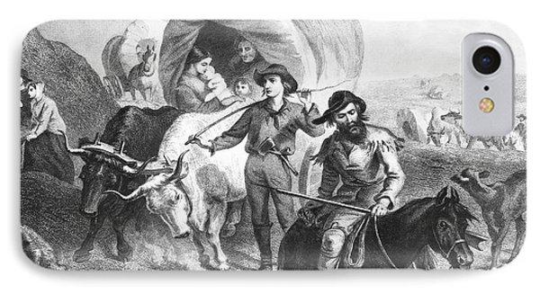 Emigrants To West, 1874 IPhone Case