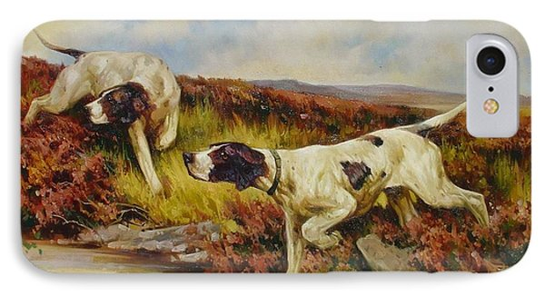 English Pointers IPhone Case by Lucia Amitra
