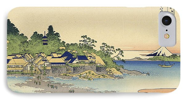 Enoshima In Sagami Province IPhone Case