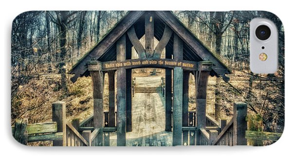 Entrance To Seven Bridges - Grant Park - South Milwaukee #3 IPhone Case by Jennifer Rondinelli Reilly - Fine Art Photography