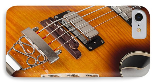 Epiphone Viola Bass Guitar IPhone Case by Classic Visions