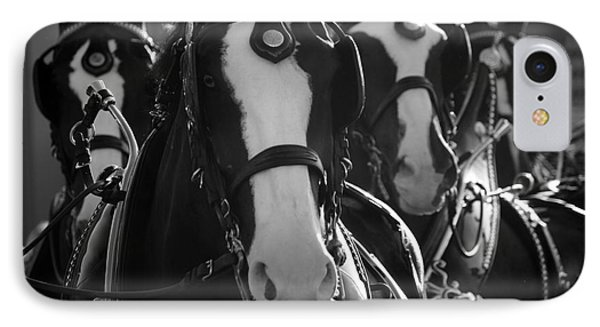 Equine Elegance IPhone Case by Wilko Van de Kamp